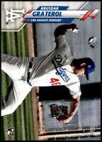 Brusdar Graterol 2020 Topps Short Print Variations 5x7 #434 /49 Dodgers
