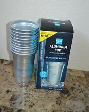 New listing Ball Aluminum Cup, The Ultimate 100% Recyclable Cold-Drink Cup 10 Cups Per Pack