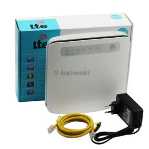 UNLOCKED HUAWEI E5186s-22a 300Mbps Dual-Band 4G LTE CPE Wireless Router USB RJ11
