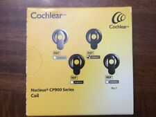 cochlear nucleus cp900 coil black new in unopened box