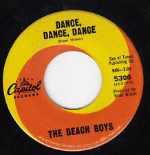 CLASSIC 1964 BEACH BOYS 45~DANCE DANCE DANCE~CAPITOL 5306~BEAUTIFUL VG++ COND