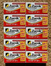 100 ZORRIK SUPER PLATINUM DOUBLE EDGE RAZOR BLADE CUT SHARP - Best Offer on Ebay