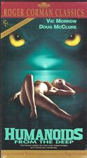 HUMANOIDS FROM THE DEEP VHS CORMAN CLASSICS NEW SEALED
