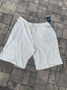 POLO RALPH LAUREN Men's Supreme Comfort Knit Pajama Sleep Shorts  X LARGE