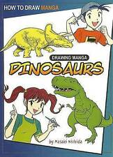 NUOVO come DISEGNARE MANGA Dinosauri A4 RILEGATO maski Nishida 9781404238459
