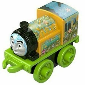Thomas & Friends Minis YELLOW VICTOR Ocean Train Engine Fisher Price NEW *LOOSE*
