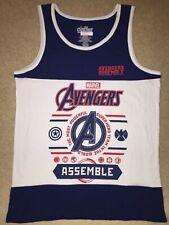 Avengers ENDGAME CAPTAIN AMERICA HULK Movie MENS New Tank Top SLEEVELESS T-Shirt