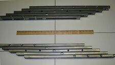 STEEL EQUALIZED TABLE SLIDES FOR STATIONARY BASE TABLES - ONE PAIR - OPTIONS!
