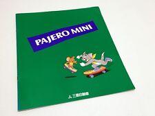 1996 Mitsubishi Pajero Mini JDM Brochure - Japanese Domestic Market