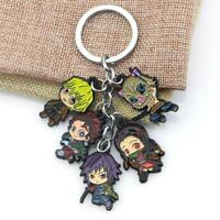Anime Style Keychain Pandent Keyring Cosplay Collectable Key Chain