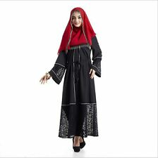 Dubai Muslim Women Cardigan Kaftan Abaya Long Arab Cocktail Maxi Dress Party New