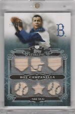 2010 Topps Roy Campanella GU x6 Brooklyn Dodgers /25