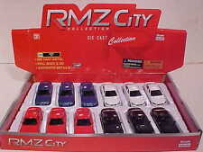 Pack of 12 BMW M5 Coupe Die-cast Car 1:64 by RMZ City 3 inch