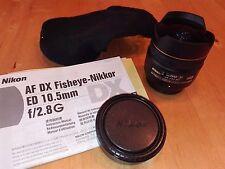 Nikon 10,5mm f2.8 G ED fisheye lens / Nikkor AF DX
