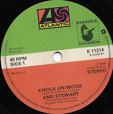 AMII STEWART - KNOCK ON WOOD / WHEN YOU ARE BEAUTIFUL - 70s FUNK DISCO variant