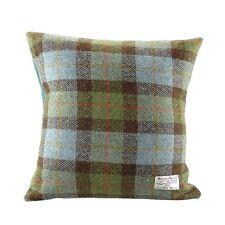 Authentic Harris Tweed Square Cushion Gunn Tartan LB4002 COL 15