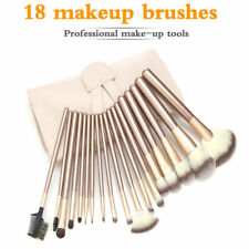 Pro 18 Pcs Makeup Brushes Cosmetic Tool Kit Eyeshadow Brush Case Bag Set Best
