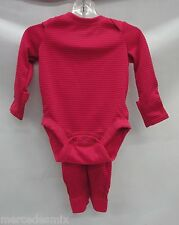 Patagonia Baby Capilene 3 MW Baselayer 60053 Pico Stripe: Rossi Pink 3-6 Months