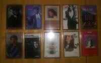 Vintage Lot of 10 Christian Music Cassettes Amy Grant Carman Michael W Smith ..