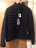 MONCLER  Delabost Padded Blue Jacket in Size 3/ Medium