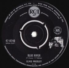 Elvis Presley 1st Press OZ 45 Blue river VG+ '66 RCA 478740 Rock N Roll