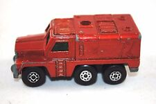 Matchbox SuperFast No:16 BADGER / US Heavy Duty SECURITY / RESCUE Vehicle
