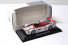 1:43 Minichamps Audi r8 Le Mans #1 Infineon Dealer New chez Premium-modelcars
