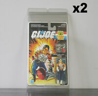 2 x Protective Cases For MOC Vintage GI Joe Taller Carded Figures