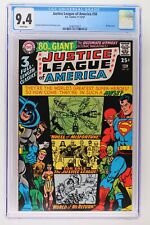 Justice League of America #58 - DC 1967 CGC 9.4 50 Page Giant! 2nd Highest Grade