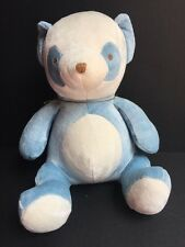 My Natural Bamboo Collection Blue Panda Plush Toy Non Toxic NEW with Tags