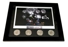 Disney Framed Lithograph and 4 coin set- *1998 Nice!