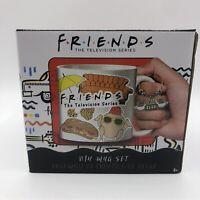 FRIENDS Television Series DIY Mug Set Waterproof Stickers Central Perk Coffee
