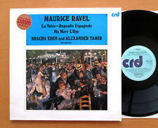 CRD 1124 Ravel Works For Two Pianos Racha Eden Alexander Tamir 1984 Stereo NM/EX