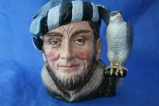More details for royal doulton large stamped not for resale etc colourway falconer character jug