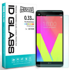 LG V20 Tempered Glass Screen Protector | Ringke Invisible Defender Glass 0.33 mm