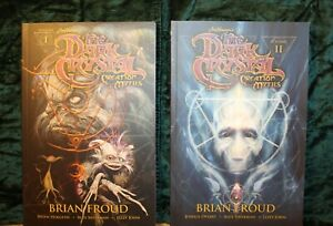 The Dark Crystal Creation Myths Vol 1 & Vol 2 TPB Brian Froud Au Seller