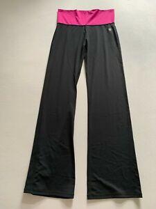Zumba Hose Sporthose  neu schwarz pinker Bund Größe XL / L