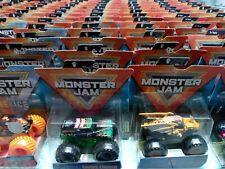 Hot Wheels monster jam trucks, spin masters, 1:64 Scale Die-Cast Monster Trucks