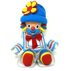 Patati Patata Portuguese Clown Doll Plush Vinyl Head Red White Blue Multibrink
