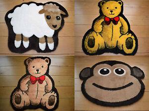 Soft Fluffy Non-Slip New Born Baby Nursery Rugs Boys Girls Bedroom Machine Wash