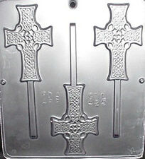 Celtic Cross Chocolate Candy Mold Religious  425 NEW