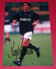 PAULO SOUSA INTER MILAN AUTOGRAPH HAND SIGNED 12X8 PHOTO INTERNAZIONALE