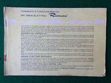 (R10) RIVAROSSI CATALOGO Anni '50/'60 treni elettrici + FIAT 500 600 KATALOG
