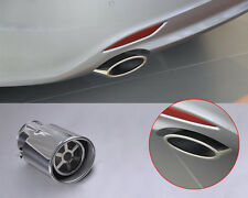63mm /24.80 Inch Exhaust Tail Muffler Tip Pipe Fit For Hyundai Santa Fe 2007-12