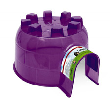 Pet Igloo (Small) - Cage Accessory - For Hamster, Mouse & Other Small Animals