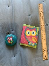 Stephen Joseph Owl Kids Wallet and Penny Pincher Coin Purse