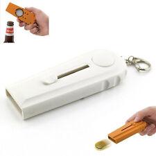 Flying Cap Zappa Bottle Beer Opener Cap Launcher Fire Hat Key Ring Capsule US