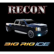 """RECON 26414X 62"""" BIG RIG """"ICE"""" White Running Lights LED"""