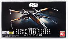 Bandai Star Wars Vehicle Model 003 Poe's X-Wing Fighter kit 063193