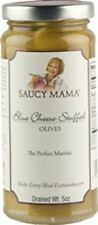 (Case of 6) Saucy Mama Blue Cheese Stuffed Olives